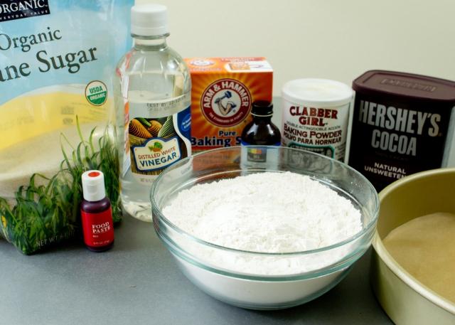 Red Velvet Cake Ingredients
