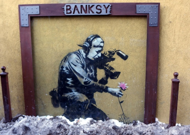 Banksy Sundance Main Street