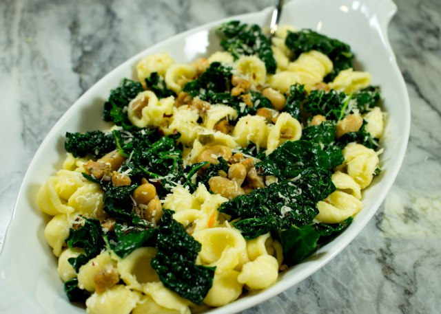 Orecchiette with Sausage, Kale and White Beans | Crumb Coated Life