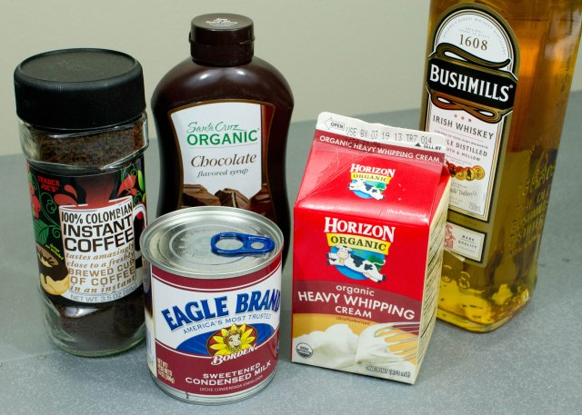 Homemade Irish Cream Ingredients