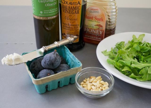 Fig Salad Ingredients