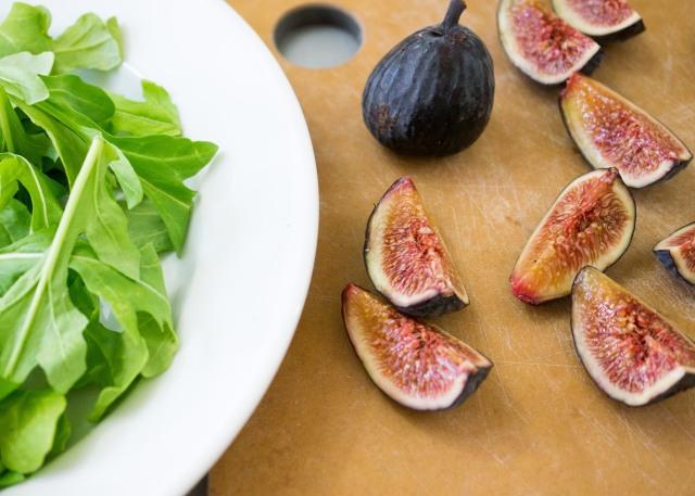 Chopped Black Misson Figs