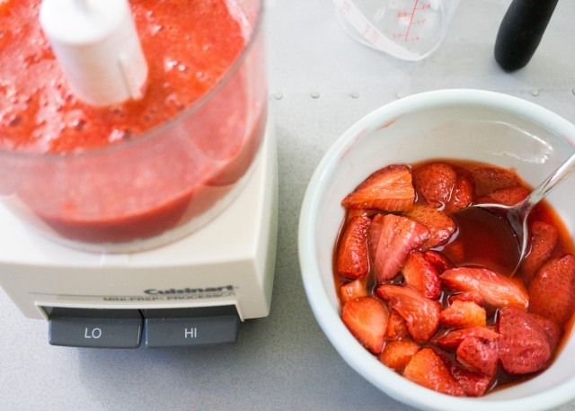 Roasted Strawberry Puree
