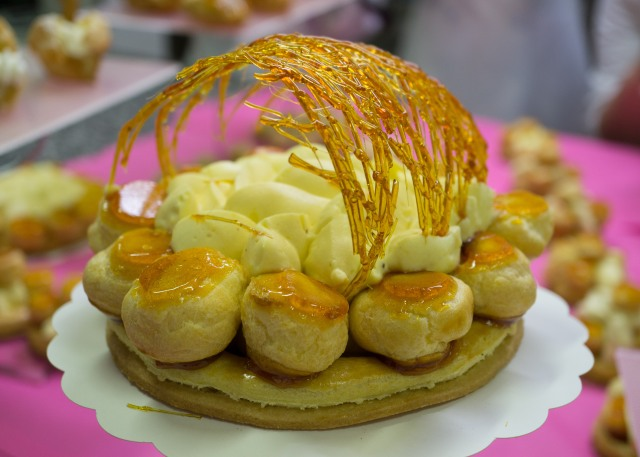St Honore with Caramel