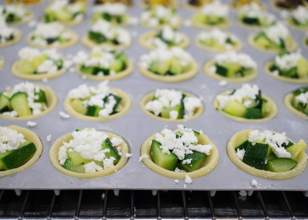 Gruyere And Hazelnut Squares Recipe — Dishmaps
