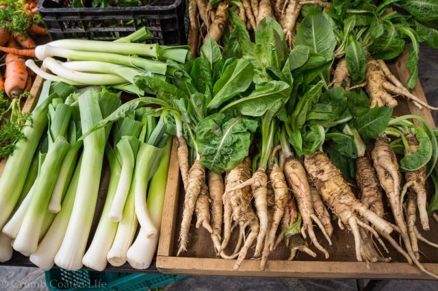 Fresh produce at the Farmer's Market